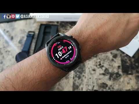 Unboxing and Setup of the Samsung Galaxy Watch 3 [45mm, Bluetooth, Mystic Black]
