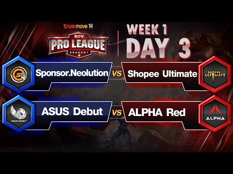 RoV Pro League Presented by TrueMove H - Week 1 Day 3