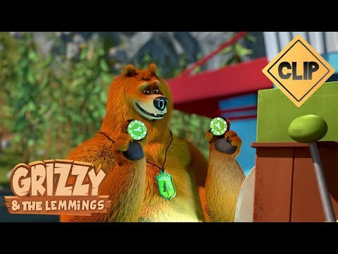 Course poursuite nocturne avec Grizzy - Grizzy & les Lemmings