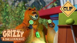 Course poursuite nocturne avec Grizzy - Grizzy &amp les Lemmings