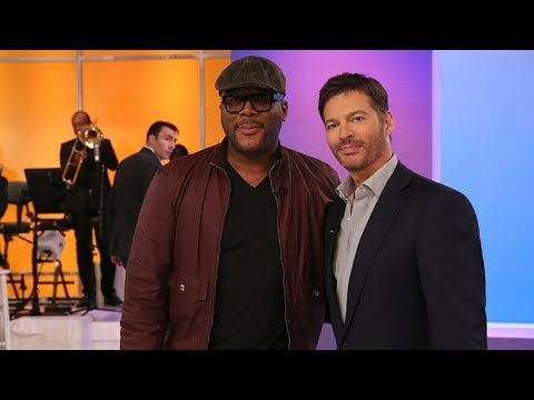 Harry & Tyler Perry's Musical Tribute to Old Jobs