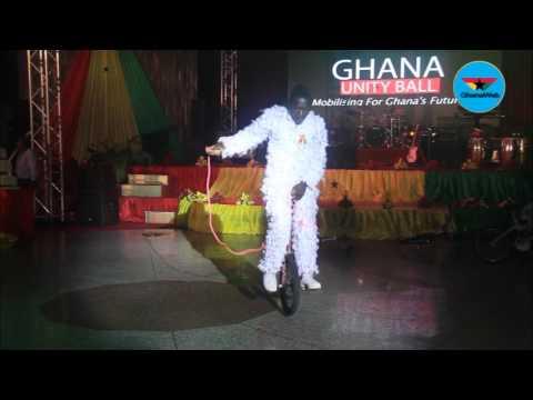 Bikers stun audience at Ghana@60 Unity ball
