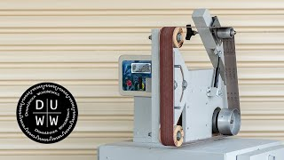 How to build a homemade 2 x 72 belt grinder