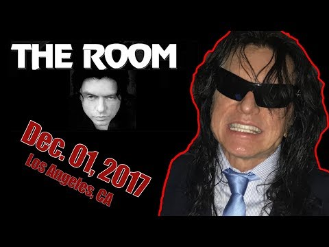 Tommy Wiseau does hilarious impression of James Franco | 2017 Dec 01 | Regent Theater LA