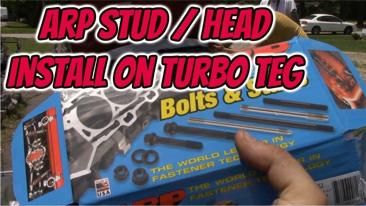 b16a arp head stud torque specs
