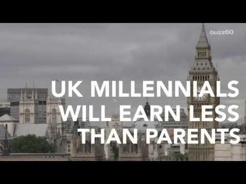 UK Millennials First Generation to Earn Less Than Parents