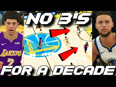 A DECADE WITHOUT THE 3 POINT LINE!! THIS IS WHAT HAPPENED!! *NOT CLICKBAIT*