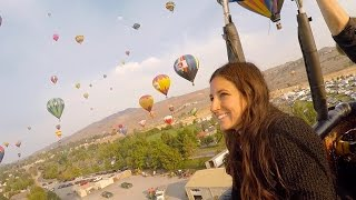 MAGICAL HOT AIR BALLOON RIDE