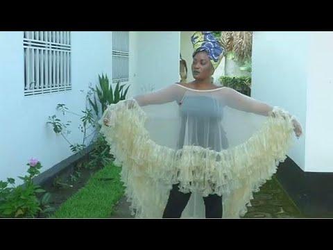 Condom clothing designer in the DR Congo promotes HIV awareness