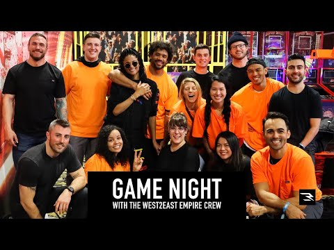 West2East Game Night | Andretti's Indoor Karting | Russell Wilson and Ciara