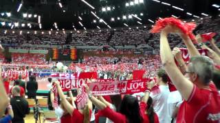 Hymn Polski - Liga Światowa 2012 Polska - Finlandia