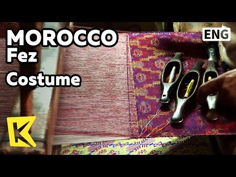 【K】Morocco Travel-Fez[모로코 여행-페스]수공예 전통 예복/Costume/Handcraft/Artisan/Alley