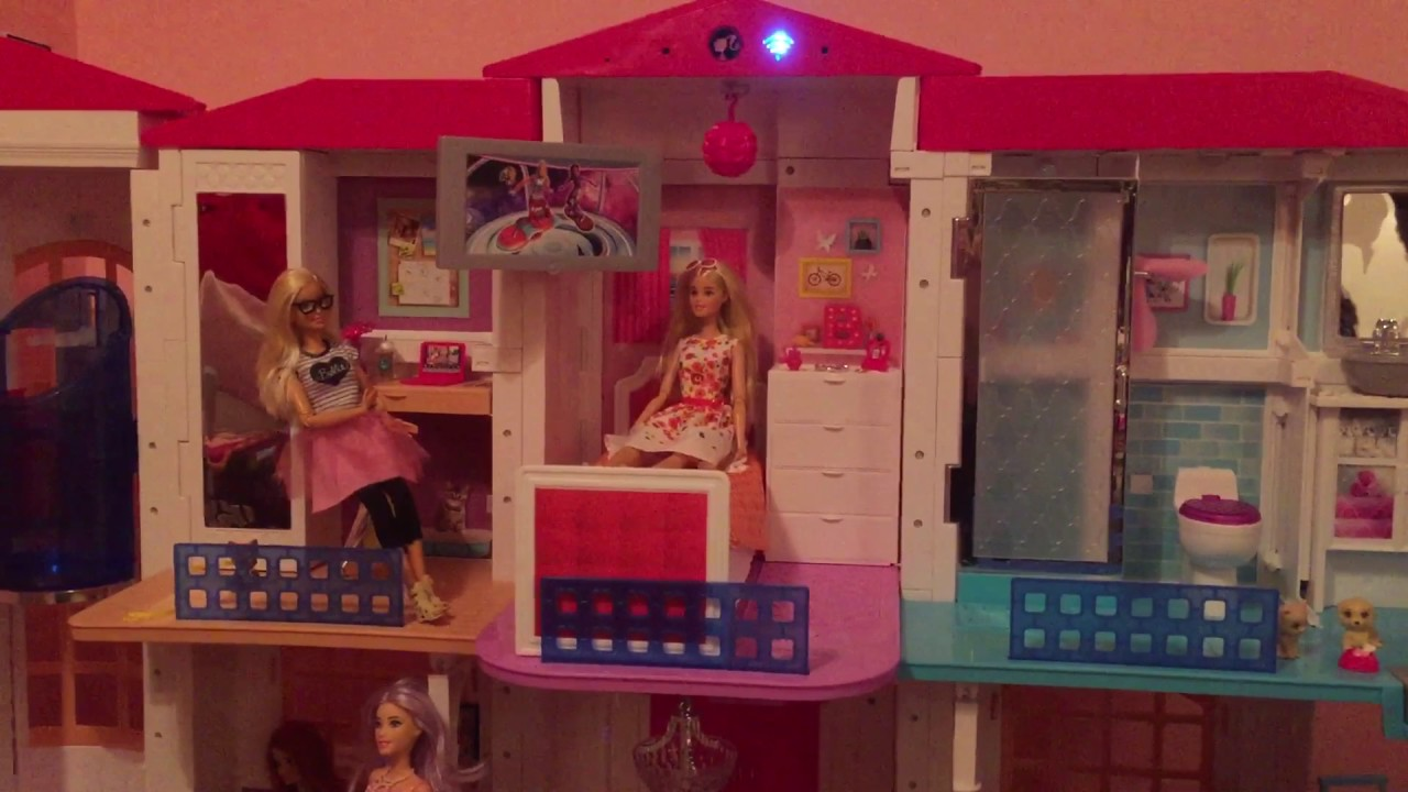 Barbie Hello Dream House Holiday Commands Tour Youtube