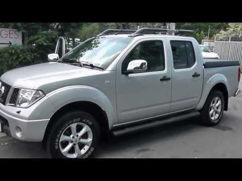 GY06UAL USED NISSAN NAVARA AVENTURA in SILVER at Wessex Gara