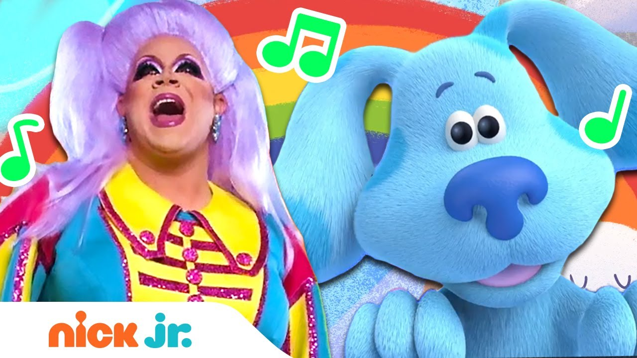 Pride Sing Along 🏳️🌈 with Nina West & Blue's Clues! | Nick Jr.