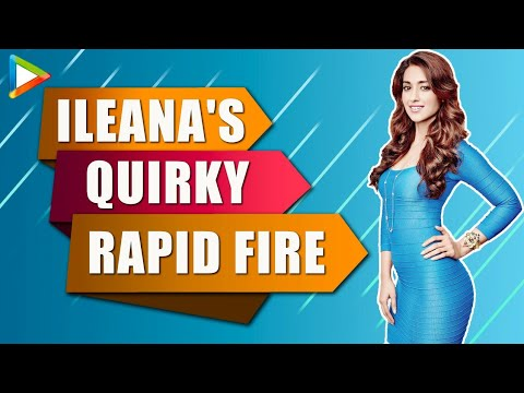 Ileana D'Cruz's Most AMAZING Rapid Fire On Arjun Kapoor, Kareena Kapoor & Varun Dhawan | Mubarakan