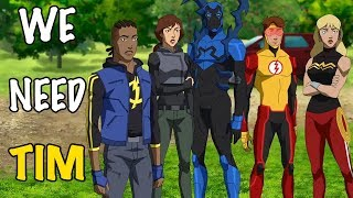 We need TIM : Young Justice Season 3