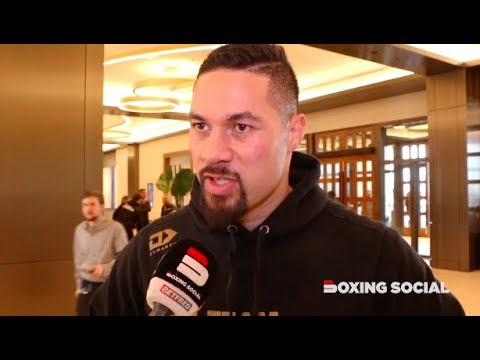 "JOSEPH PARKER ON ""DOMINANT"" TYSON FURY VS DEONTAY WILDER, SHAWNDELL WINTERS BOUT, WANTS USYK/CHISORA"
