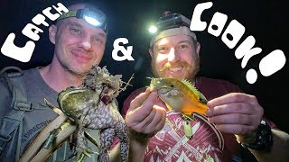 Overnight Adventure - Camping in National Forest - DAY 2 - Fishing in a Thunderstorm
