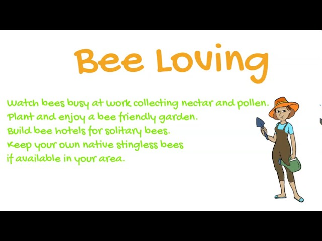 Be Loving and Bee Loving