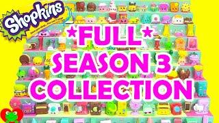 Shopkins в 3 колекції сезону повна колекція іграшок Джин