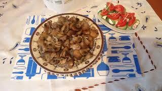 Кето ужин , шампиньоны с беконом , очень вкусно👌☘( видео N 32)