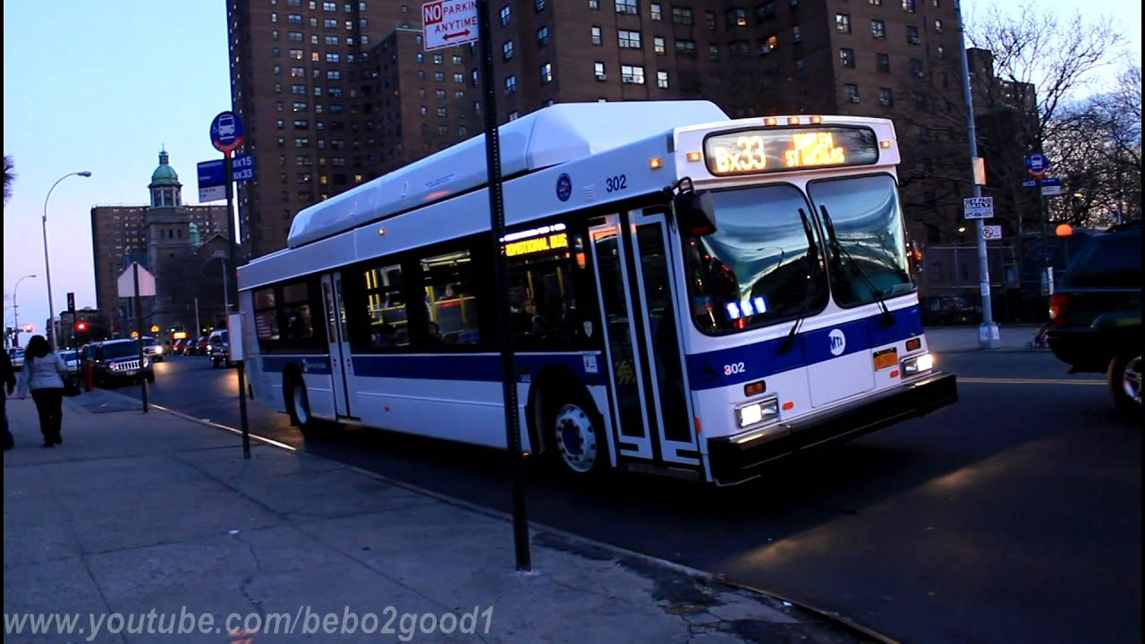 Mabstoa Bus C40lf On The Bx32 Bx33 At 138th Street 3rd Avenue