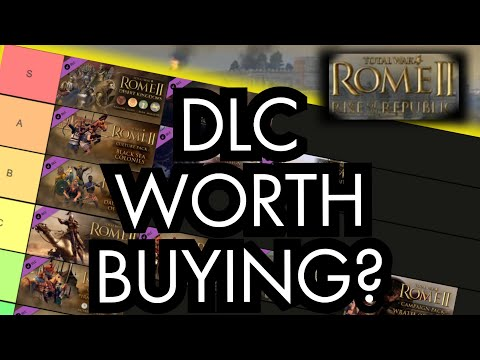 Ranking EVERY DLC For ROME II (2020 Tier list)