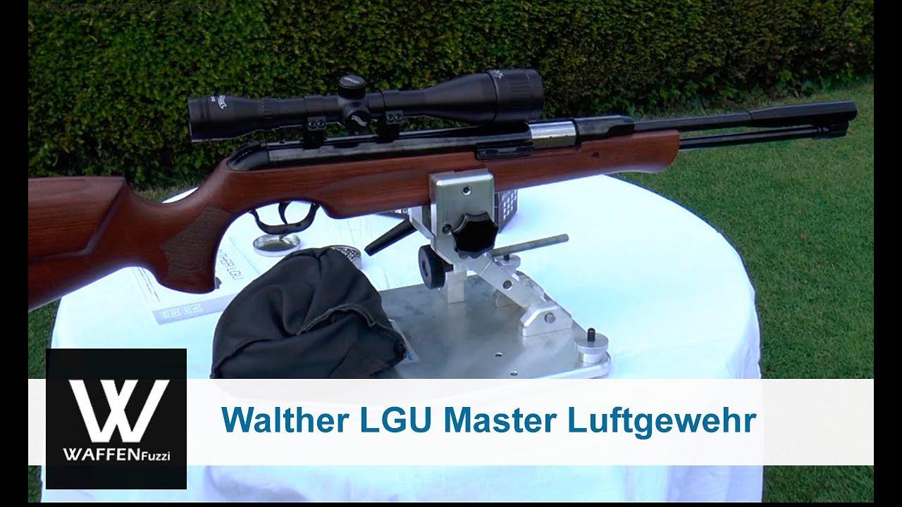 Walther lgu master luftgewehr unterhebelspanner 4 5 mm diabolo