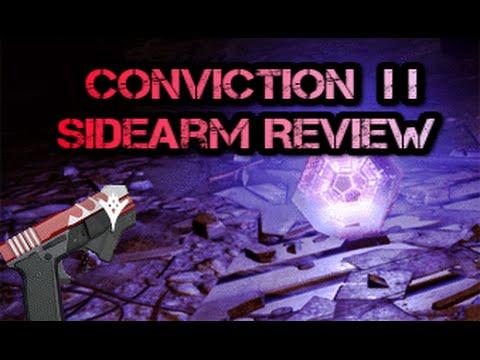 Destiny - Conviction II Legendary Sidearm Review