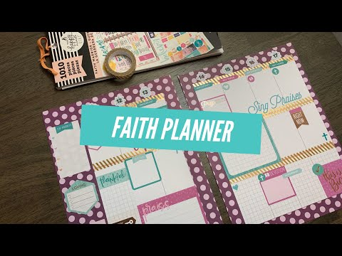 Faith Planner: Plan With Me