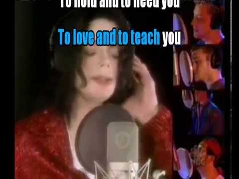 What more can I give - Michael Jackson and friends (Video karaoke)