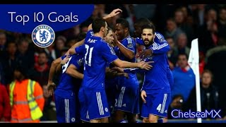 Top 10 Goals Chelsea FC 2015/16