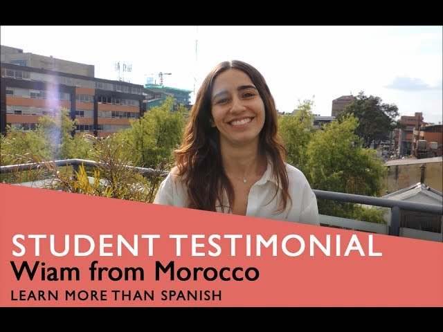 General Spanish Course Student Testimonial by Wiam form Morocco