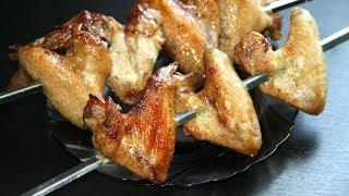 Куриные крылышки на мангале. Простой рецепт