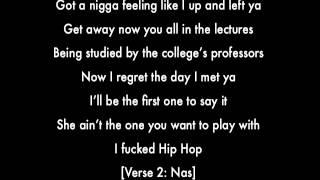 Hip Hop (feat. Scarface, Nas, & DJ Premier) - DJ Khaled (LYRICS)