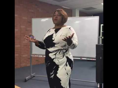 How To Rock The Stage   Cheryl Wood Teaching at Speaker Camp 16 with Che Brown and Trevor Otts