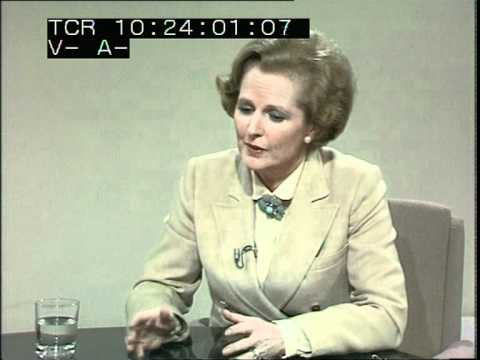 Margaret Thatcher interview - TV Eye