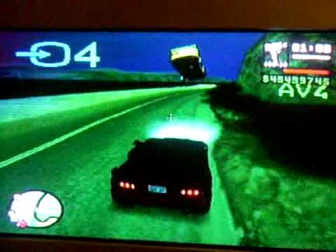code voiture volante dans gta san andreas ps2