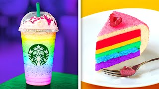 RAINBOW FOOD! || 23 FOOD IDEAS THAT WILL SURPRISE YOU