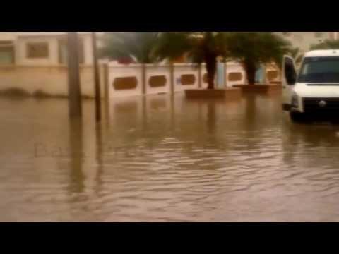 الأمطار الغزيرة بمدينة نفطة - Nefta en 03 / 09 / 2013