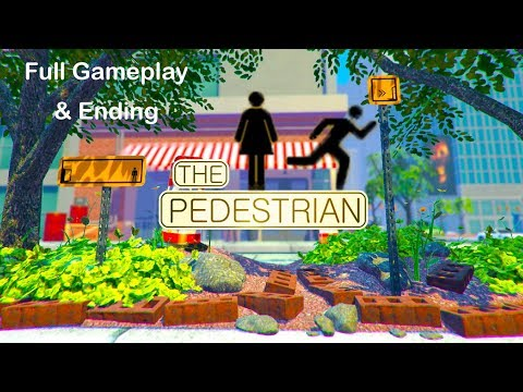 The Pedestrian - Full Gameplay Walkthrough u0026 Ending ( All Achievements )