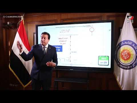 عبد الغفار: من الممكن أن نصل إلى مليون إصابة بفيروس كورونا