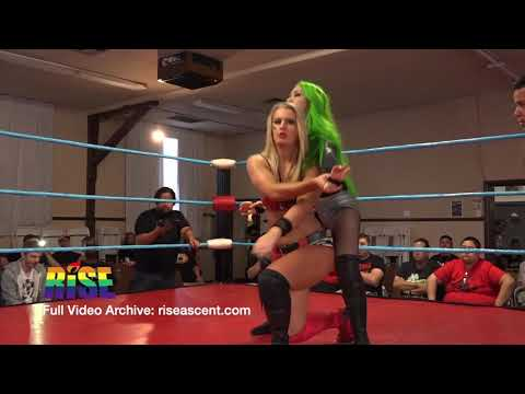 Toni Storm vs Shotzi Blackheart Women's Wrestling from RISE 6.5 - THROTTLE from YouTube · Duration:  9 minutes