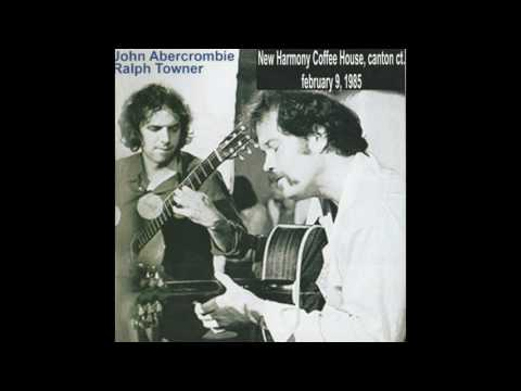 JOHN ABERCROMBIE & RALPH TOWNER live at New Harmony Coffee House, 09.02.'85 (Beneath An Evening Sky)