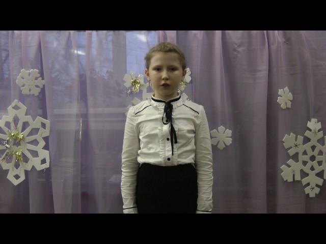 Изображение предпросмотра прочтения – ИринаКоробейникова читает произведение «Зимний вечер» А.С.Пушкина