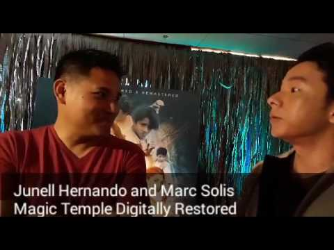 Junell Hernando and Marc Solis share some happy moments in Magic Temple