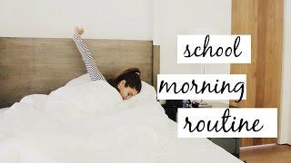 MY SCHOOL MORNING ROUTINE 2016