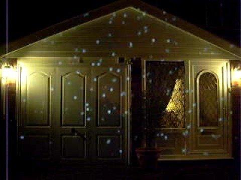 Snow Effect Christmas Lights