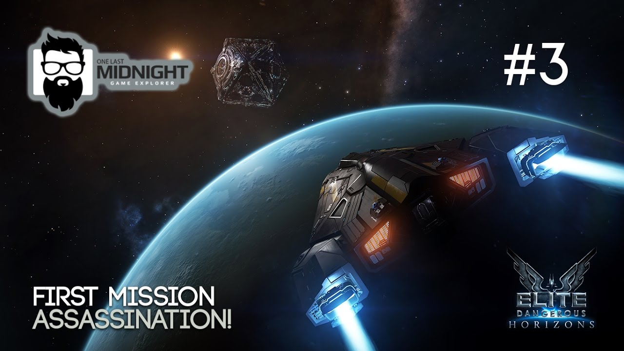 Elite Dangerous Horizons Gameplay - RUNNING FIRST MISSION - PART 3 - Lets  Play Elite Dangerous